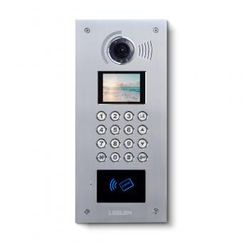 Mechanical Pushbutton Digital Outdoor Intercom Station