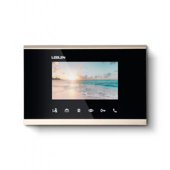 4.3 LCD Screen Digital Indoor Intercom Station